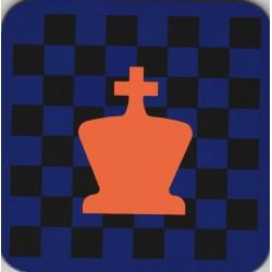 Onderzetter, kies het schaakstuk en de kleuren