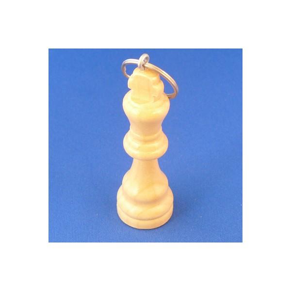 Sleutelhanger schaakstuk koning