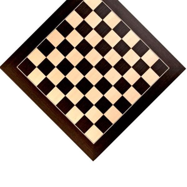 Schaakbord Wenge de luxe 55 cm