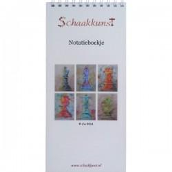 """Notatieboekje """"Schaakstukken"""", Cis"""