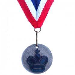 Medaille 3D geprint in veel kleuren Koning