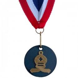 Medaille 3D geprint in veel kleuren Loper