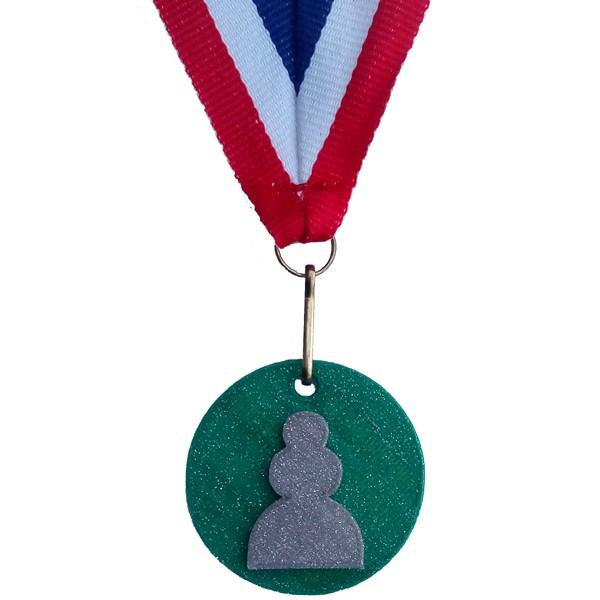 Medaille Pion 3D geprint