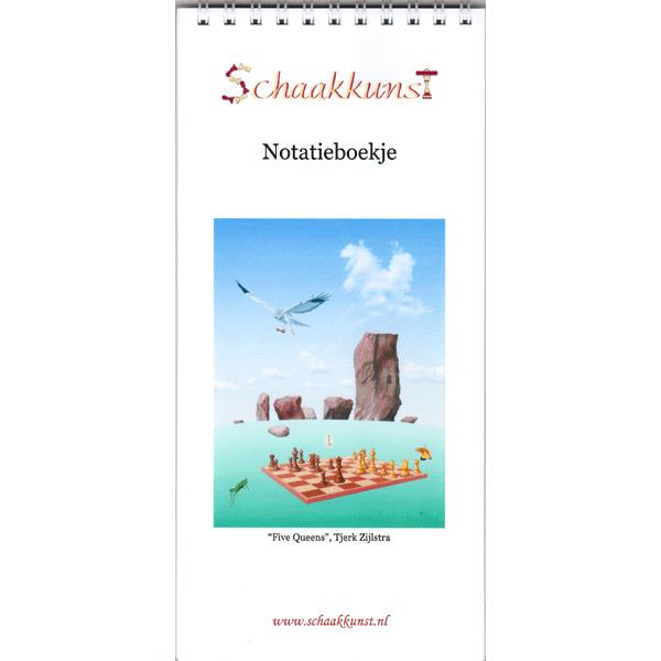 """Notatieboekje """"5 Dames"""", Tjerk Zijlstra"""